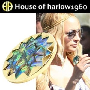House of Harlow 1960 Boho Ring